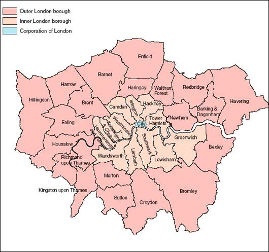 london england map. London Map | London